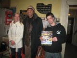 Tina, Fabrice Olivet, Tom et la brochure Best of d'ASUD
